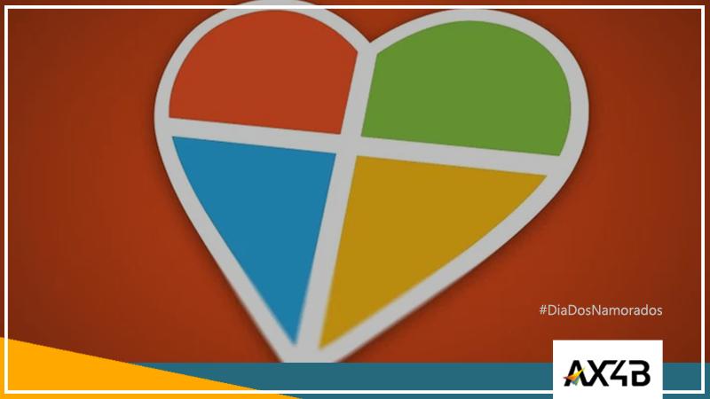 Microsoft dia dos namorados