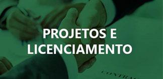 projetos e licenciamento