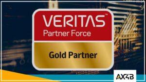 A AX4B é Gold Partner Veritas