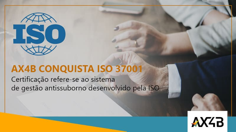 AX4B conquista ISO 37001