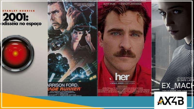 Filmes para os amantes de tecnologia